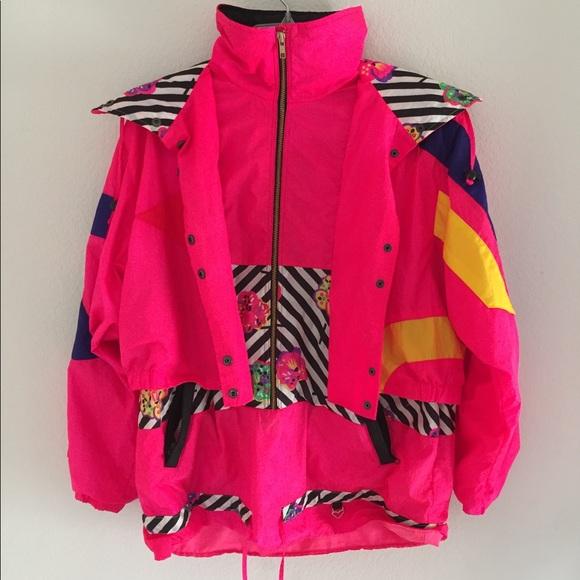 3d2b253aa1 VINTAGE 80 s Women s Ski Jacket RARE. M 5c240364a31c330955a26c60